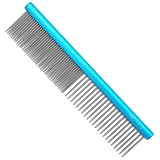 Гребень MADAN COMB MATTED BABY BLUE 5""